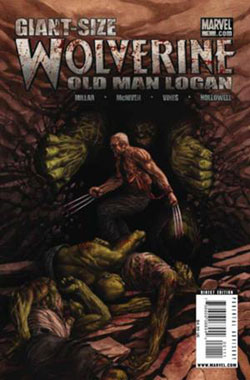 شماره 8 كميك old man logan