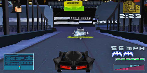 بازی  BATMAN: GOTHAM CITY RACER