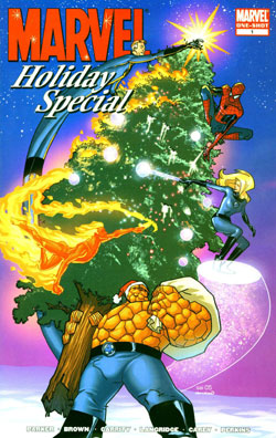 marvel holiday special  کمیک