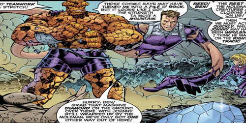 «رید ریچاردز» و «بن گریم» (Reed Richards & Ben Grimm)