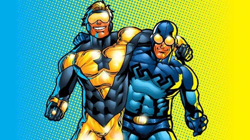 «بلو بیتل» و «بوستر گولد» (Blue Beetle & Booster Gold)