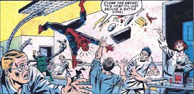 spidey-fights-ock-in-hospital