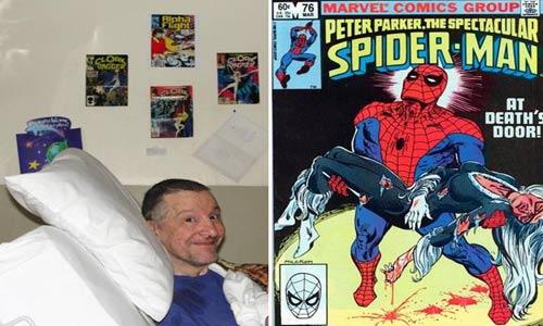 بیل منتلو، بیل مانتلو، نویسنده مرد عنكبوتی