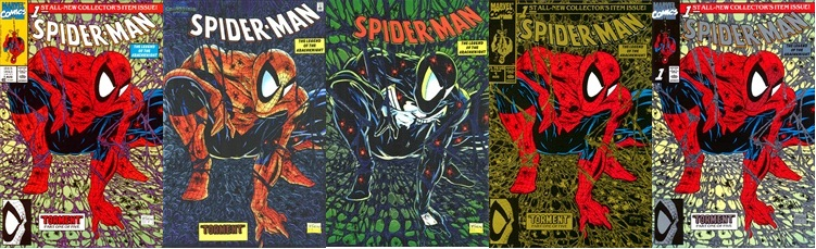 spiderman1-all5versions
