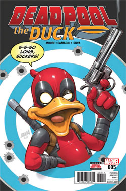 کمیک deadpool the duck