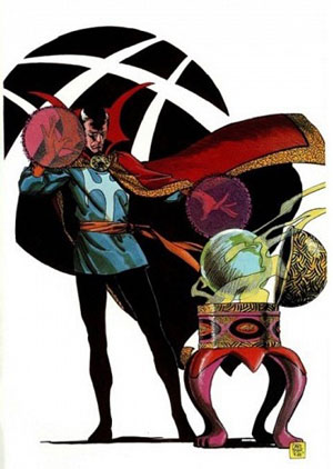 - گوی آگاماتو (Orb of Agamotto)