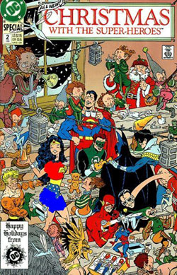 كمیك Christmas with the Superheroes