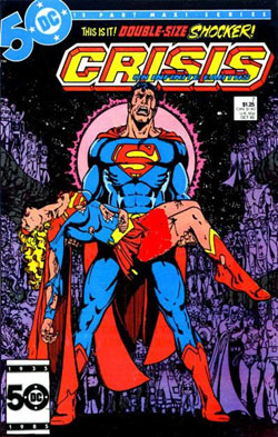 كمیك Crisis on Infinite Earths