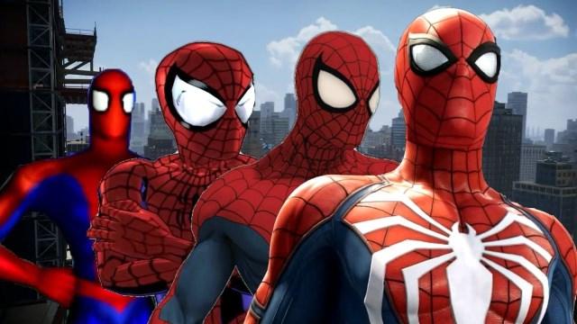 15 بازی برتر مرد عنكبوتی
